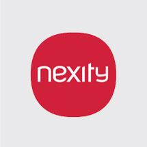 Nexity  (next + city // littéralement la prochaine ville)