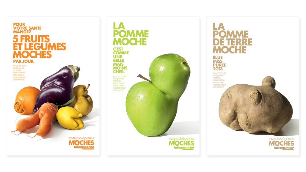Marcel pour Intermarché - supermarché, «Les fruits et légumes mo